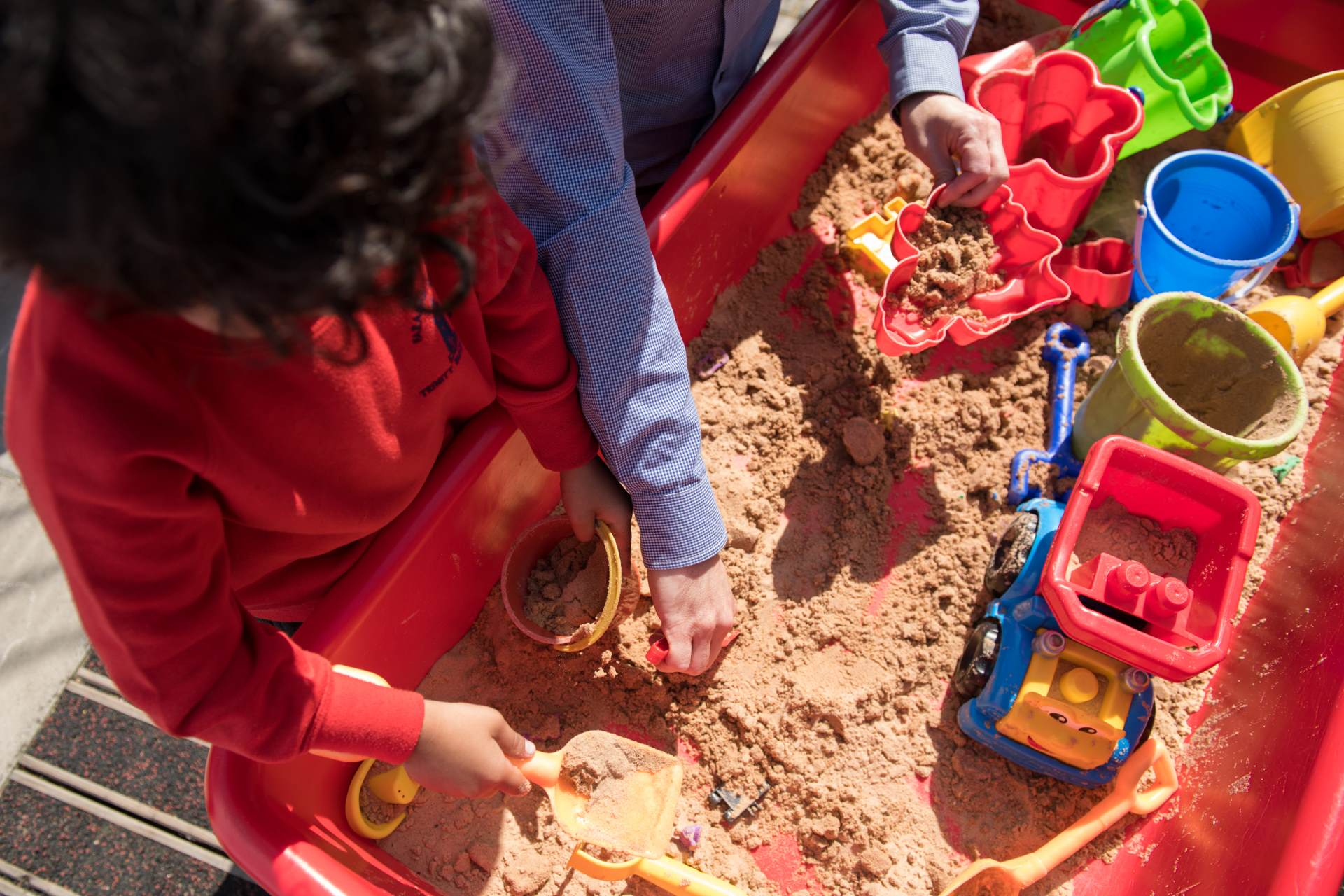 sand play eyfs reception equipment